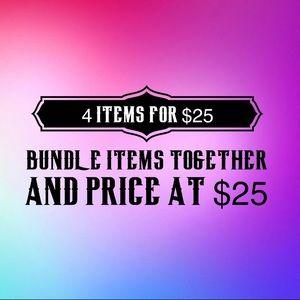 Jewelry - Bundle 4 Items for $25